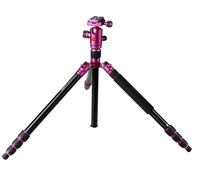 Photographic equipment aluminum folding tripod for camera AC-258-QF-0T purple