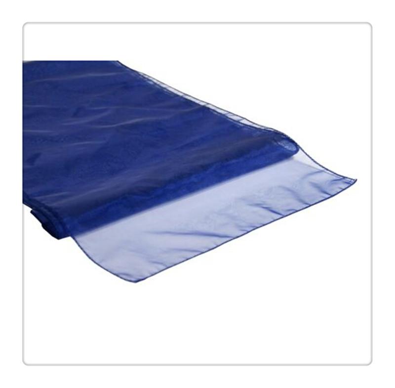 12pcs manteles para mesa navy blue Table Runner for weddings(China (Mainland))