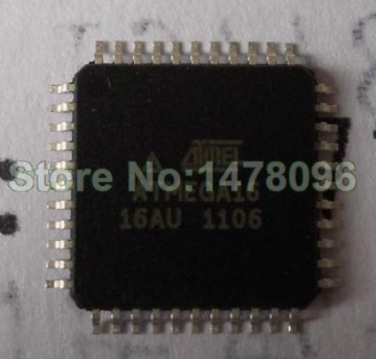 Free Shipping 10pcs/lot ATMEGA16-16AU ATMEGA16 ATMEL TQFP-44 100% NEW(China (Mainland))