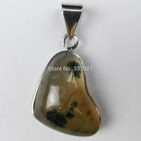 G0418 Free Shopping Beautiful Romantic Fashion Onyx Agate pendant bead 1pcs/lot