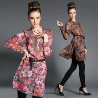 Brand Plus Size Hot Sale Women's Clothing Spring New 2015 Europe America Thin High-end Fancy Dress MY1098 XL 2XL 3XL 4XL