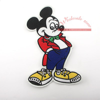 200pcs/lot Mouse Sew on Applique DIY Patch,iron on patches embroidered cloth patch Good quality accessory wholesale