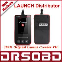 2015 Original LAUNCH Creader 7 Code Reader Creader vii Diagnostic Full System Update Online DHL Free Shipping