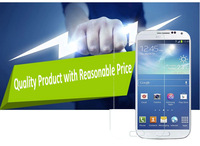 Free Shipping Tempered Screen Protector 0.3mm for Samsung S4 Mini I9190 I9192 I9198 9H Hardness Anti Shattering Full Transparent