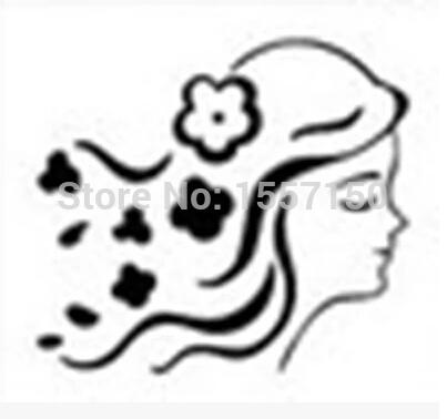 Free shipping girl pattern Mini diy soap stamp chapter seal 4.2*4.2cm(China (Mainland))
