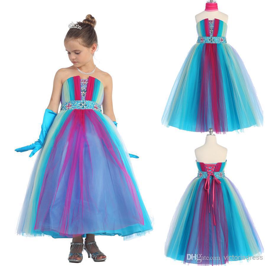 2015 lower Girl Dresses