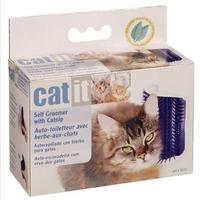 Hagen catit cat massage device self groomer with catnip cat toy pet toy