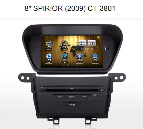 "For HONDA ACCORD EURO Car GPS Navigation / 8"" LCD Touch Screen, Radio, TV, CD DVD Player, Steering Wheel Control, etc(China (Mainland))"
