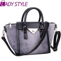 fashion vintage crocodile women handbag messenger Bags shoulder bags handbags women famous brands new 2015 HL3620