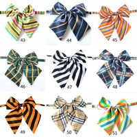 fashion office lady gifts Sexy colorful strip Adjustable Girl Women Bow Tie bowknot tie new 43-51