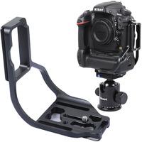 Quick Release Plate/Camera Bracket/Holder for Nikon D800/D800E+Battery Grip MB-D12 RRS / ARCA-SWISS / KIRK Tripod Ball Head