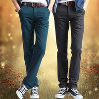 2015 Spring and summer men's casual pants wholesale Boutique popular trousers fashion mens pencil pants more color(BK0034)