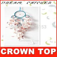 Hot sale Dreamcatcher India Talisman Wind Chimes good luck Dream Catcher car /wall decorations A254