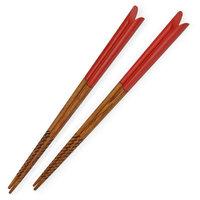 Fashion Natual wooden Chopsticks cusp tine style chopsticks 10pairs/lot eco-friendly Quality Korean chopsticks Free Shipping
