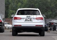 New car logo light 4D rear lamps decorative AUTO background emblem light LED lamp white/red/blue for Q3/Q5/A1/A3/TT A-udi series