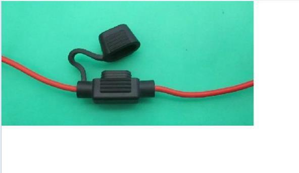 Good Quality 1pcs Waterproof Mini In Line Fuse Holder 1pcs 5A Fuse Inserts