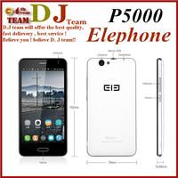 "Original Elephone P5000 5"" FHD Screen WCDMA Cell Phone MTK6592 Octa Core 2GB RAM 16GB ROM Android 5.0 16MP 5350mAh Battery"