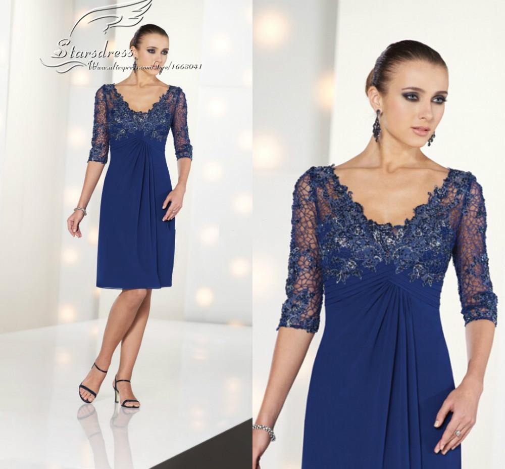 Платье для матери невесты Starsdress 2015 /vestido/de/madrinha/royal/blue/plus/size/v 00193