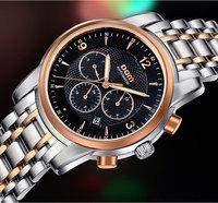 DOM brand luxury self-wind watch men multifunction stylish watches timekeeper quality designer wristwatch relogio masculino