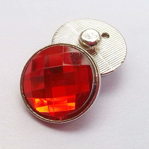 Hot sale 18 mm faceted crystal snaps Faceted Glass buttons fit snaps earring buttons ring K1004(China (Mainland))