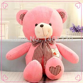Teddy bear plush valentine gift rag doll star stuffed toy care bears birthday gift hello kitty plush teddy bear big baby toys 60(China (Mainland))
