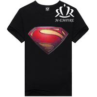 2014 New High-Quality Designer Famous Brand 3d Printed Size M-XXXL Cotton Superman Causul T-Shirt E57 Free Shipping