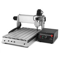 3 AXIS 3040T-DQ CNC ROUTER CARVING CUTTING TOOL ENGRAVER ENGRAVER MACHINE BALLSCREW WOOD CUTTER