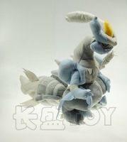 Pokemon White Kyurem Big Size 34*37cm Plush Toys