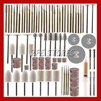 78 Piece Rotary Tool Accessory Set - Fits Dremel - Grinding, Sanding, Polishing Free Shipping