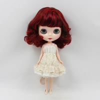 Fashion toy Nude Doll black hair birthday Boutique gift NO:10022
