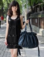 Bags 2014 Women's Handbag Fashion Leather Handbag With Bow Shoulder Bag Messenger Bag Big Bag 4 Colors sv20 SV003010