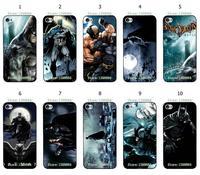 Hot 10pcs/lots Batman Joker Design Protective Black Hard Case Cover For Iphone 4 4s Free Shipping