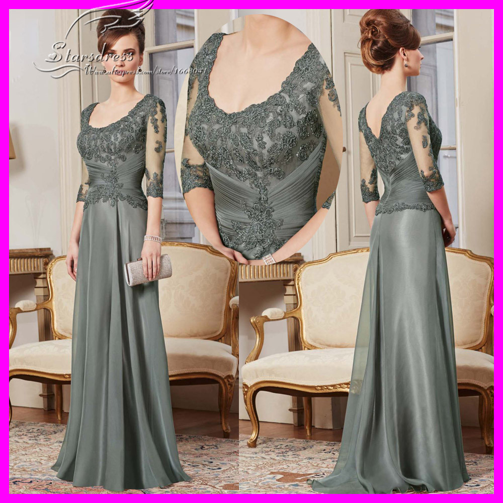 Платье для матери невесты Starsdress vestido/de/madriha/2015/SCOOP/See/Through/Mother/of/The/Bride/Lace/Dresses 0019 платье для матери невесты erose mother of the bride dresses 009 v mother of bride dresses adm 009
