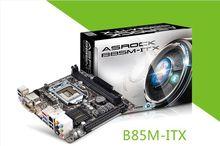 For Asrock 369 b85m-itx all solid LGA1150  DDR3 desktop mini motherboard  USB 3.0 SATA3 eSATA(China (Mainland))