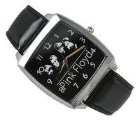 Pink Floyd Black Leather Band Fashion Watch Wrist  Free Shipping