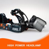1800 Lumen CREE XM-L T6 Care LED zoom Zoomable Headlamp Headlight