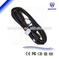 Micro USB data cable for Sony (EC600) mt15i st18i lt18i lt22i st25i mt27i lt26ii 90 degree connector