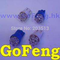 100pcs/lot car led lamp W5W T10 7 leds 7led 194 168 192  super bright Auto led car lighting wedge