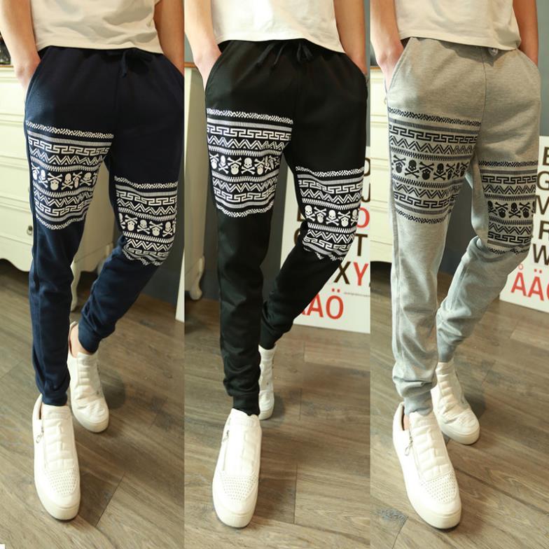 Fahsion Print Casual Men Pants Cheap Outdoor Tracking Pants For Men Hip Pop Dance Man Baggy Pants Men Urban Clothing Cy046(China (Mainland))