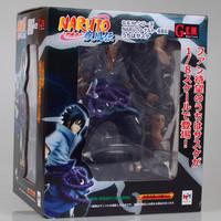 Free Shipping Anime MegaHouse GEM Naruto Shippuuden Uchiha Sasuke PVC Action Figure Collection Model Toy 25cm NTFG053