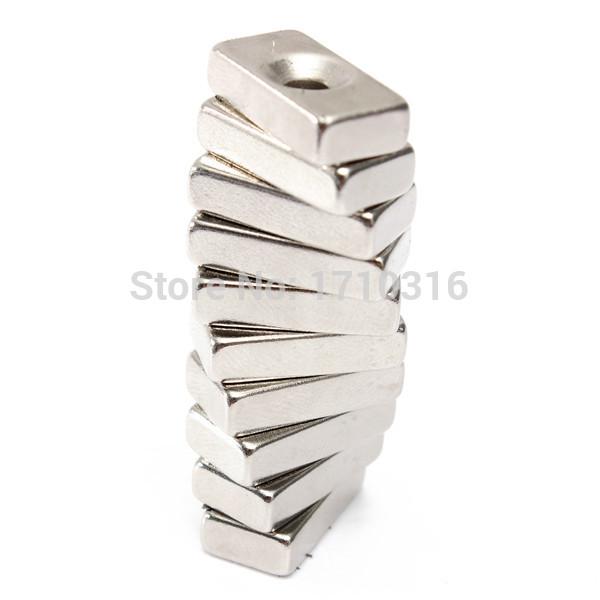 melhor promoção 10pcs/lot estável forte super forte bloco ímãs 20 x 10