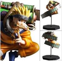 Free Shipping Anime Uzumaki Naruto PVC Action Figure Toy 23cm Naruto Collection Model Toy NTFG047