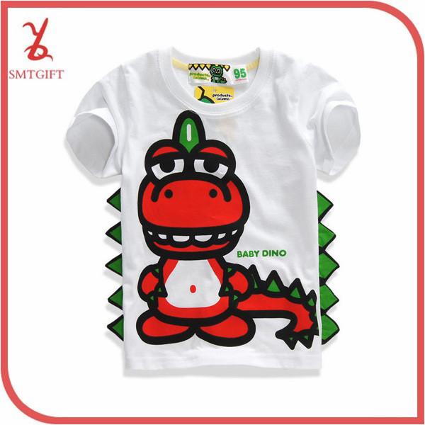 AliExpress.com Product - KT09 Kids summer short sleeve dinosaur white casual t shirt