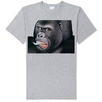 FIGHT CLUB gorilla smoking t shirt soft comfortable good quality vintage skinny sports style