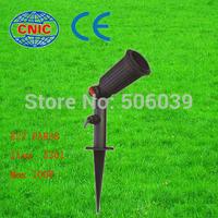 hot sell E27 par38 plastic outdoor garden light spike garden light cheap garden lights single bulb e27 par38