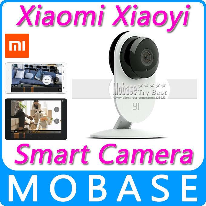 Original Xiaomi Xiaoyi Smart Camera Wireless Control Mini Webcam for Smartphone PC CCTV WiFi Security IP Camera [In Stock](China (Mainland))