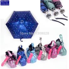 Only 170G! Lightweight Novelty Items Umbrellas Women Rain Mini Umbrella Paraguas Mujer Guarda Chuva Sombrinha Parapluie Parasol(China (Mainland))
