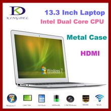 "8G DDR3 RAM+64G SSD 13.3"" Intel i5 Ultrabook laptop Metal Case Dual core 1.8Ghz Bluetooth, 8400Mah Battery, HDMI,widnows 7(Hong Kong)"