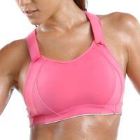 Level-4 Professional fitness sports bra cup run large size underwear  Free shipping 32 34 36 38 40 42 B C D DD E