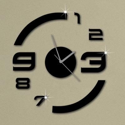 Nouveau bricolage mur horloges montre le mur design for Horloge de cuisine moderne